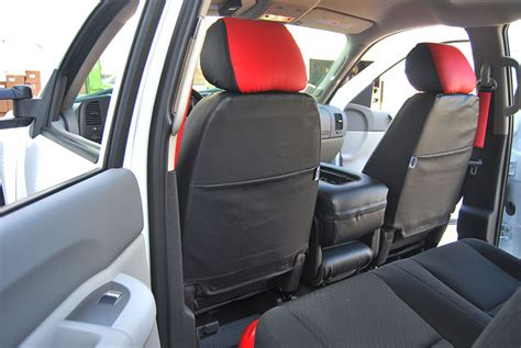 chevy silverado leather seat covers chevy silverado 2007 2012 iggee s leather custom seat