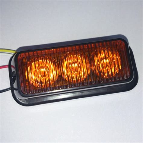 led emergency warning light vehicle lights led245b