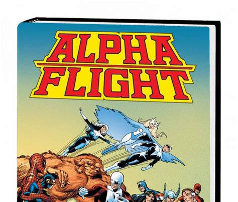alpha flight by john alpha flight by john byrne omnibus hardcover comic books comics marvel com