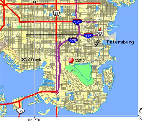 zip code map st petersburg fl 33712 zip code st petersburg florida profile homes