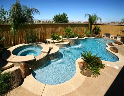 Freeform Residential, Hotel and Resort Pools   Desert
