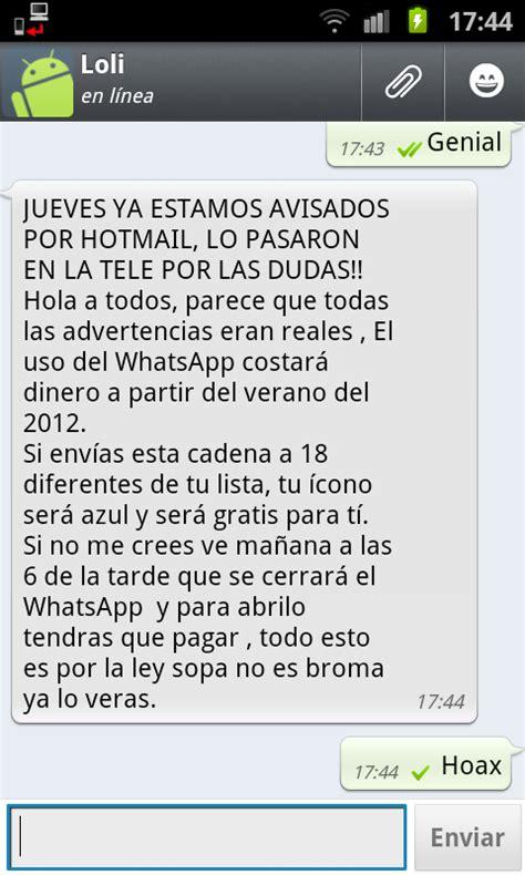 cadenas para whatsapp de dios irene herrera bach hoax y el whatsapp