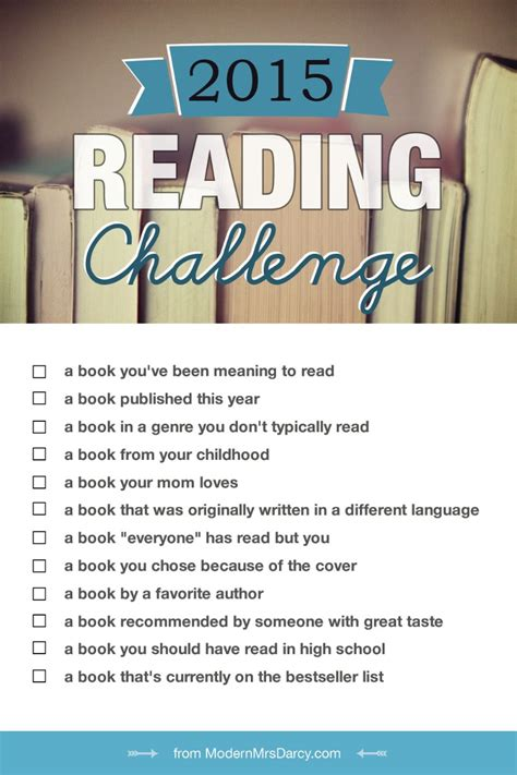 how do i i m books the 2015 reading challenge modern mrs darcy