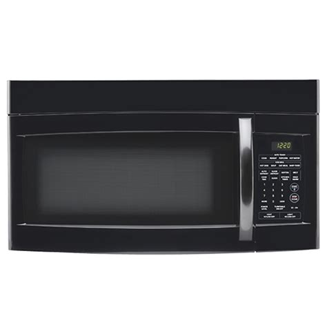 Microwave Goldstar goldstar mv1611bb 1 6 cuft the range microwave 1 000 watts child lock meal function