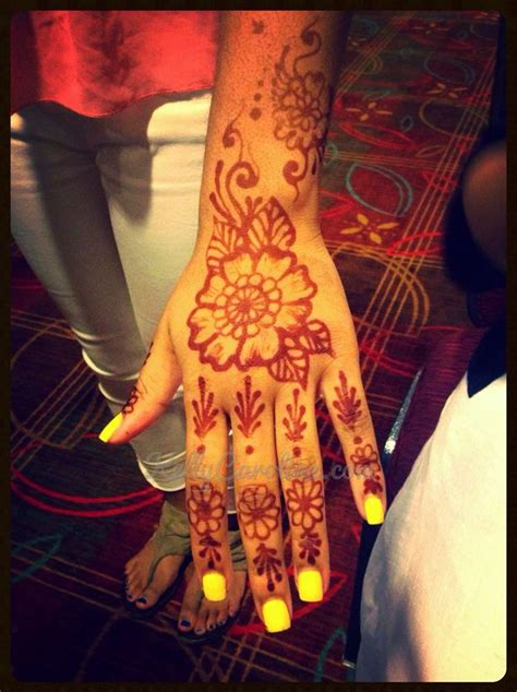 henna tattoos for parties henna party design
