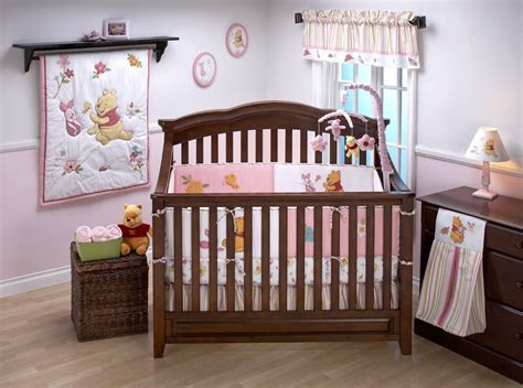 Disney Sweet Pooh Crib Bedding And Decor Baby Bedding Winnie The Pooh Crib Bedding