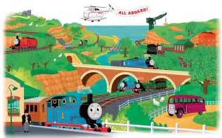 thomas the train wall mural roommates thomas amp friends peel and stick giant mural