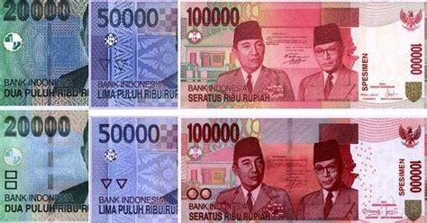 Fb 100 Mendominasi Rp 20000 desain baru uang pecahan rp 20 000 rp 50 000 dan rp 100 000 nant s light