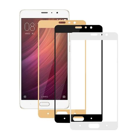 Tempered Glass For Xiaomi Redmi Pro Dua 5 5 Inch Anti Gores K 1 2 5d cover tempered glass screen protector for