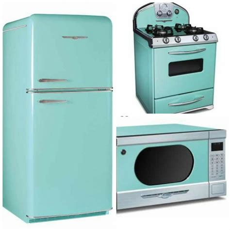 Turquoise Kitchen Appliances | pin by ɛ 239 ɜ 168 homes by alex 168 ɛ 239 ɜ on kitschy kitchen