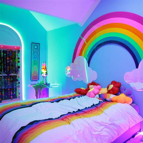 Best 25 Rainbow Bedroom Ideas On Pinterest Rainbow Room Rainbow Room Kids And