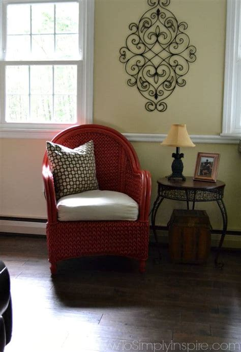 behr paint color wicker how to paint wicker furniture with a brush chair makeover