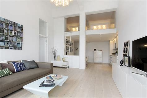 studio apartment setup exles 斯德哥尔摩白色loft公寓设计 设计之家