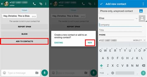how to add email to android easily add whatsapp contacts from android devices