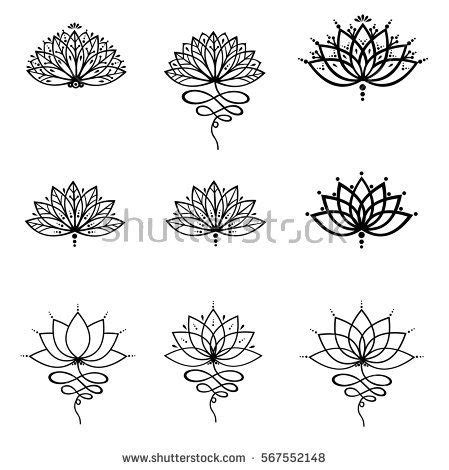 tiny idea my lotus unalome image result for lotus design my style