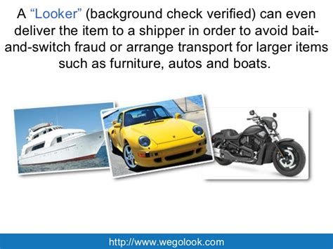 Onsite Background Check Onlineauction Partners With Wegolook For On Site Verification Ser