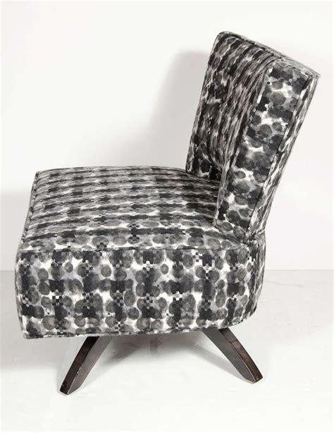 Mid Century Modernist Swivel Slipper Chair By Koehler At Swivel Slipper Chair