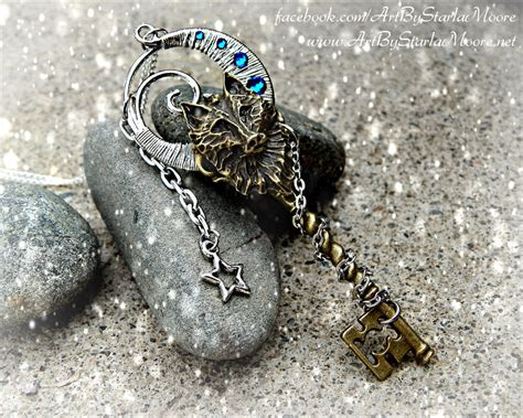News Giveaway Alert Necklace By Awcreations wolf moon key by artbystarlamoore on deviantart