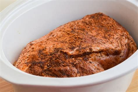 how to cook a boston butt in a crock pot for a bbq livestrong com