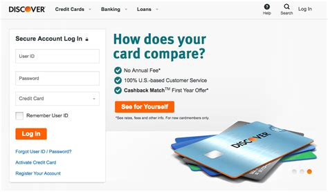 Discover Gift Card Login - discover credit card account login infocard co