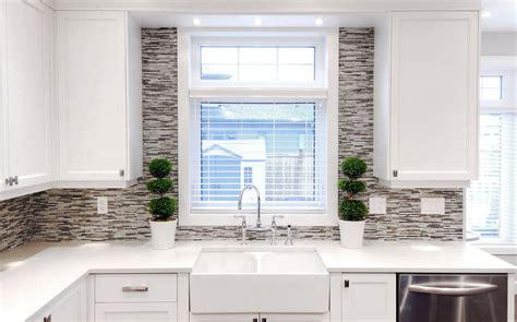 transitional white kitchen shaker style cabinets white washed cabinets kitchen transitional with wood trim