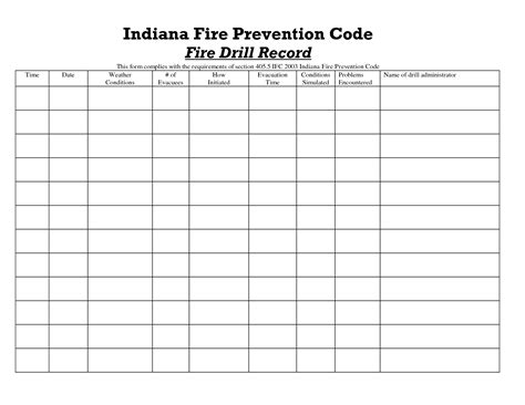 emergency drill template best photos of emergency drill log and tornado