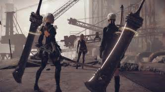 nier automata machine brand nier automata new trailer showcases combat