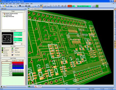 electronic layout online pcb design free electronics software download