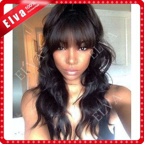 Hairstyles Using Kanubia Brazilian Natural Body With Bangs | 52 best images about pretty hairstyles on pinterest lace