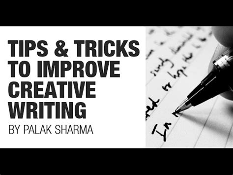 Mba Essay Tips And Tricks by Tips And Tricks To Improve Your Creative Writing Cat Gre