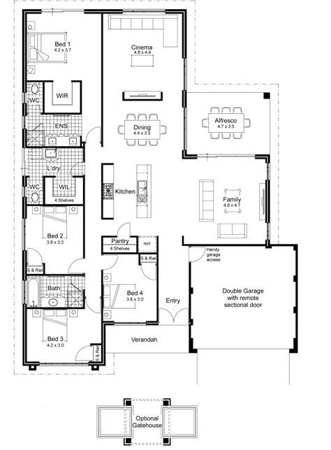 modern australian house plans inspirational luxury floor