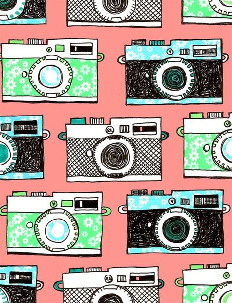 pattern background camera camera background wallpaper wallpapersafari