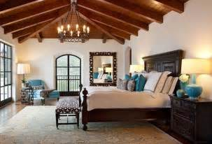 montecito transitional estate mediterranean bedroom