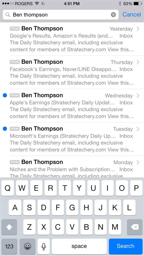 Search Email On Iphone Secret Mail Shortcuts Twelve Gestures To Speed Up Your Iphone Email Imore