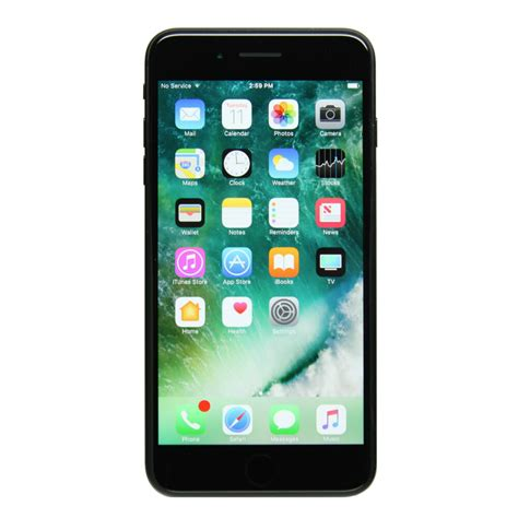apple iphone 7 plus a1784 128gb black gsm unlocked ebay