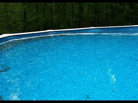 how to level backyard for pool how out of level can my above ground pool be youtube