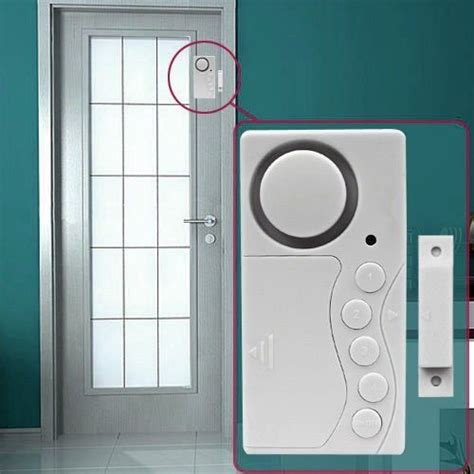 6x home door window motion detector burglar entry wireless