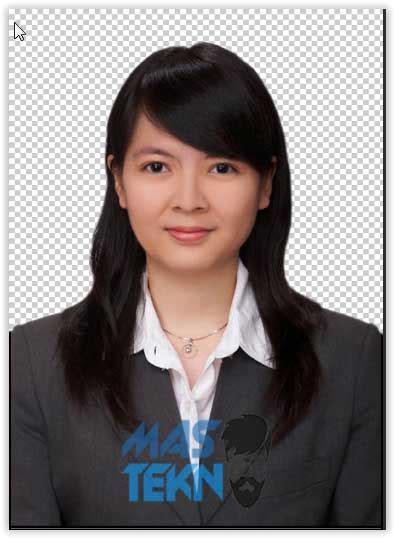 Background Latar Pas Foto Studio Biru cara mengubah background pas foto merah biru dengan photoshop