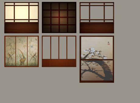 japanese walls second life marketplace japanese walls and shoji screens