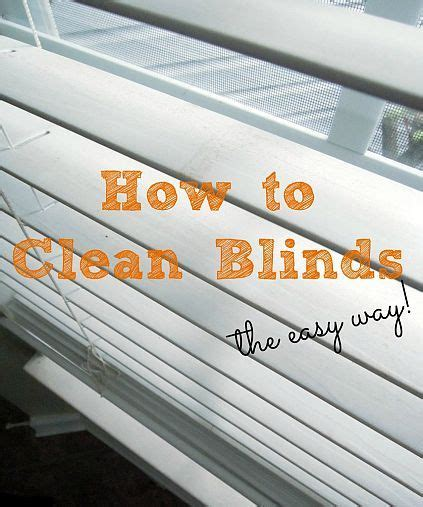 Wash Blinds In Bathtub by 1000 Ideas About Cleaning Wood Blinds On