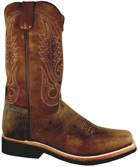 smoky boots boonville square toe boots