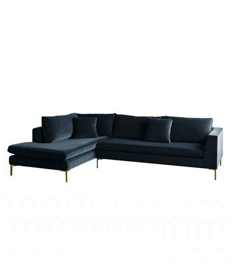 blue velvet couch anthropologie crushing it 12 times blue velvet made us swoon