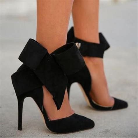 high heels with a bow charming removable big bow high heel heels shoes