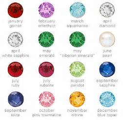 monthly birthstone colors kerry elizabeth january 2011