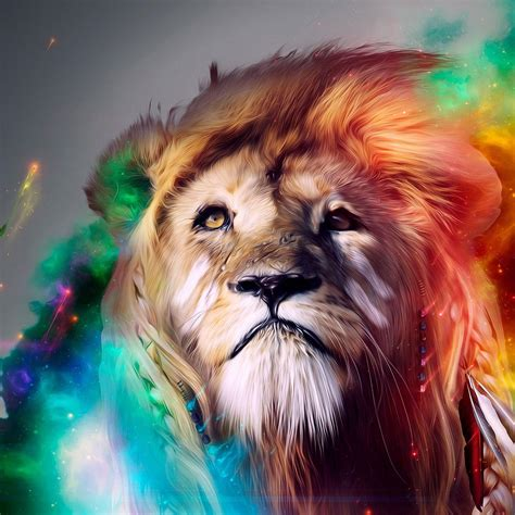 wallpaper abstract lion 20 cool hd ipad wallpapers