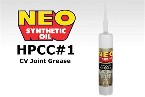 neo hpcc 1 cv joint grease t3technique vanagon parts