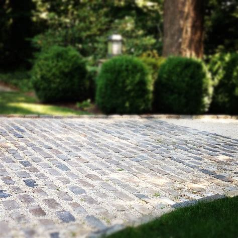 high street market driveway ideas cobblestone crushed stone