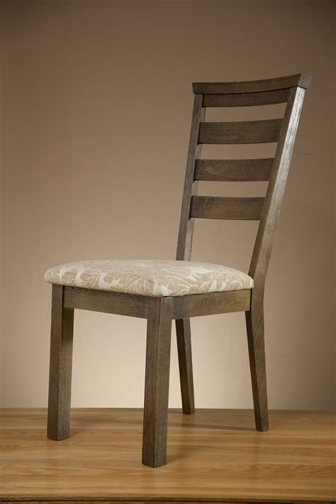 pattern fabric dining chairs brushed solid oak and patterned beige fabric dining chair