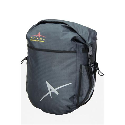 bicycle waterproofs dolphin 32 bike pannier waterproof panniers by arkel