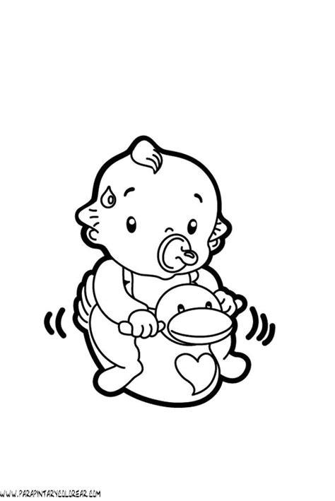 Beb 233 S Para Colorear Dibujos Infantiles Imagenes | dibujos de bebs chiquitajos dibujos de bebes 001